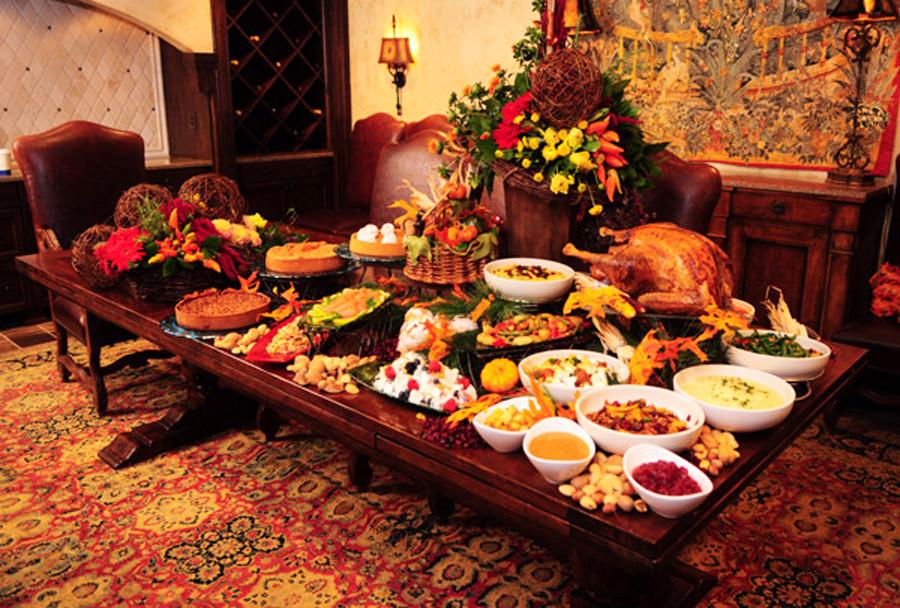 Thanksgiving Dinner Food  Thanksgiving