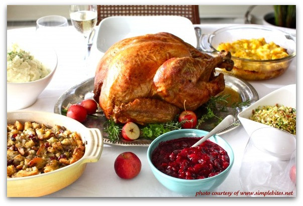 Thanksgiving Dinner Food  Traditional Thanksgiving Dinner Menu