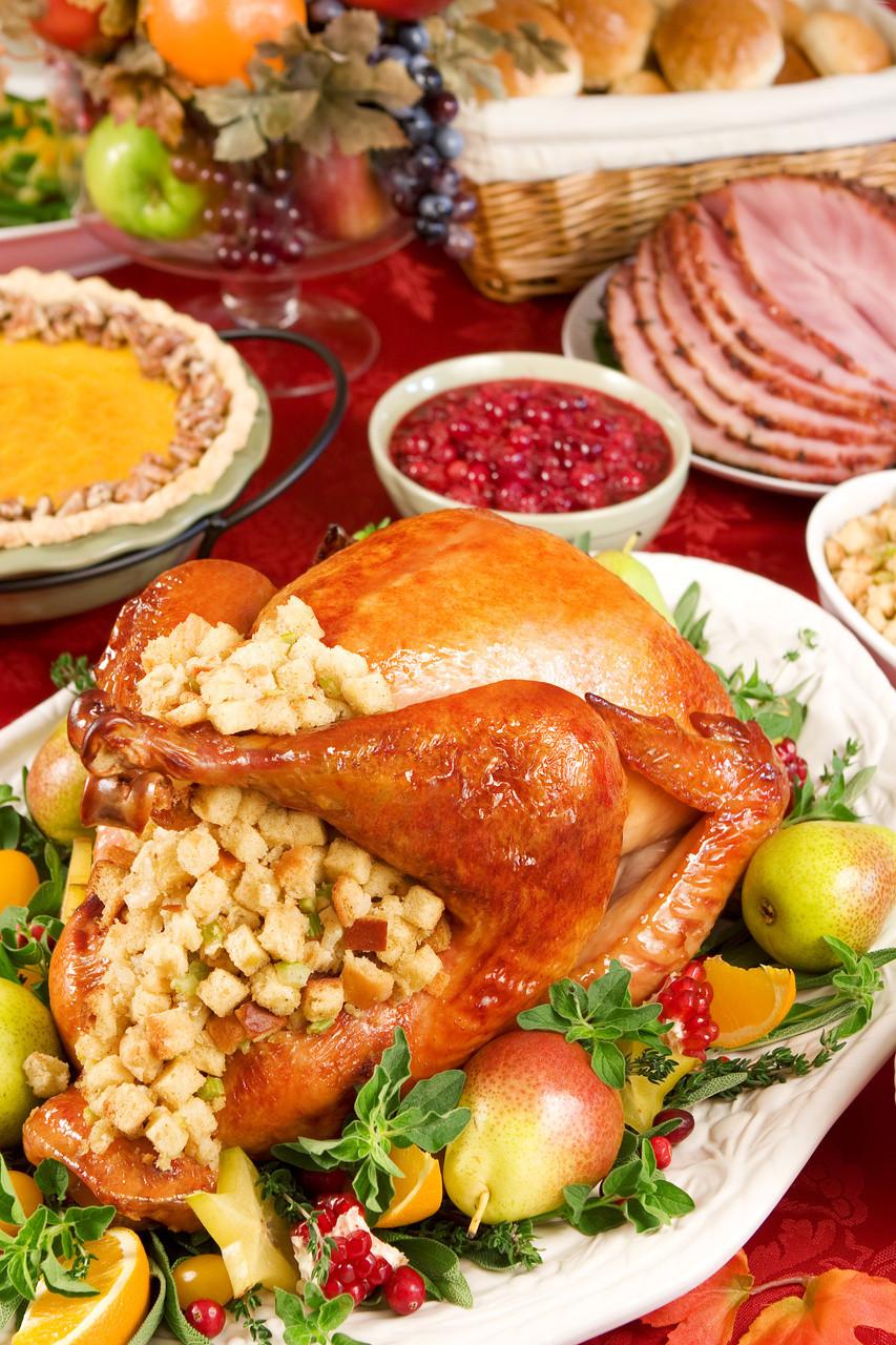 Thanksgiving Dinner Food  Christmas Dinner Party Menu