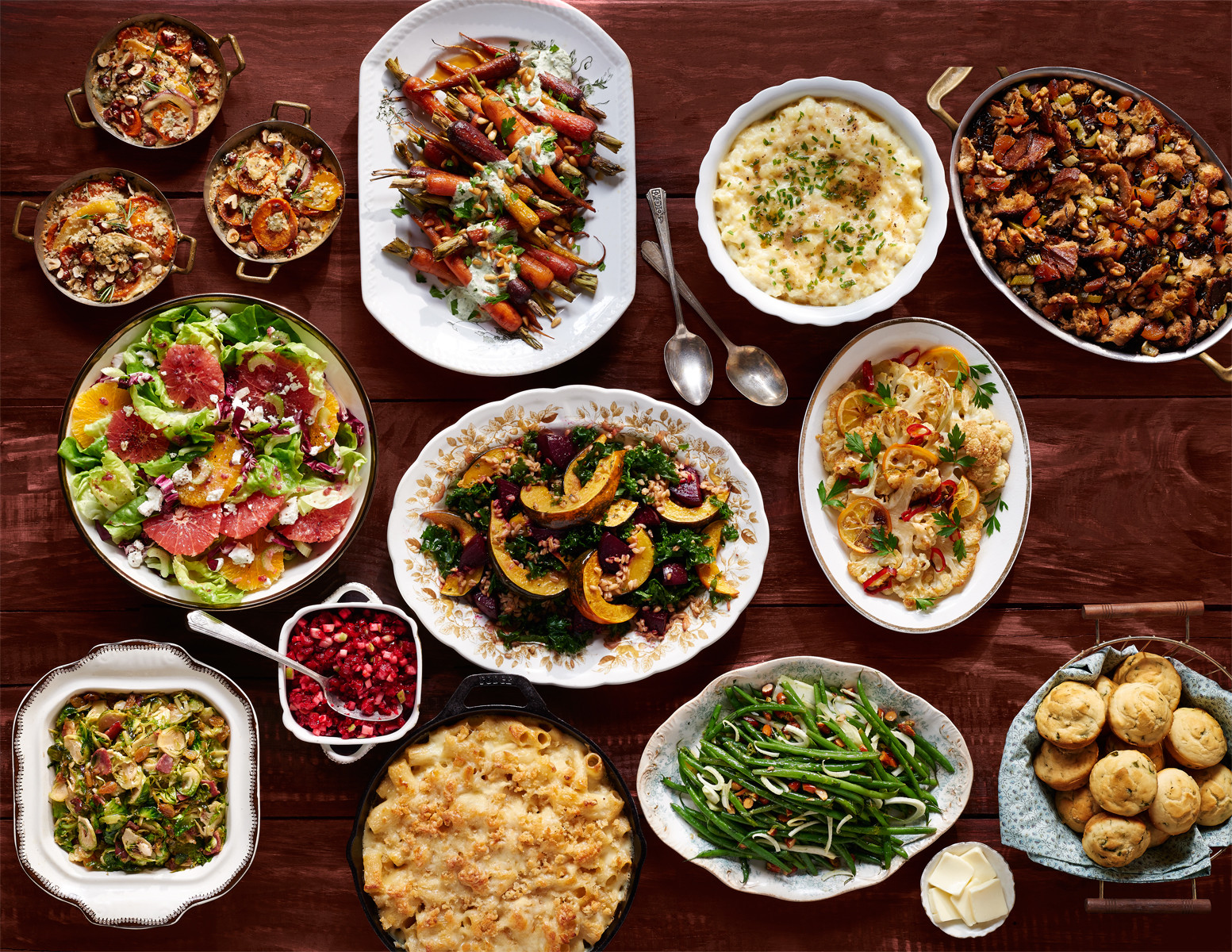 Thanksgiving Dinner Food  100 Easy Thanksgiving Side Dishes Best Recipes for
