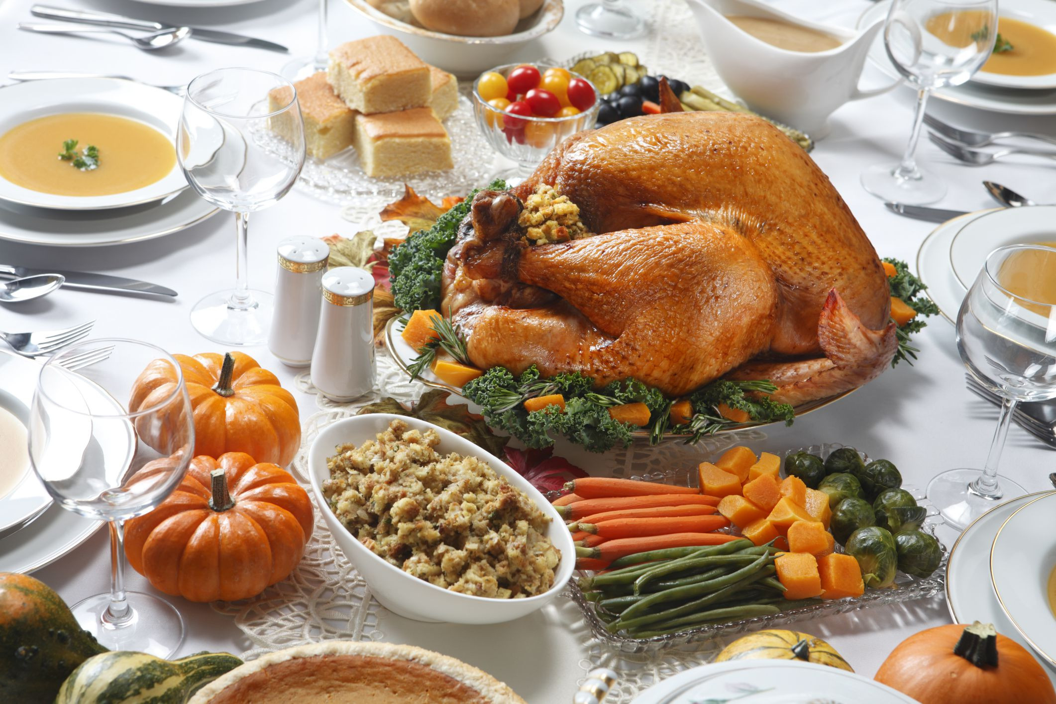 Thanksgiving Dinner Food  How to Make a Traditional Thanksgiving Meal Gluten Free