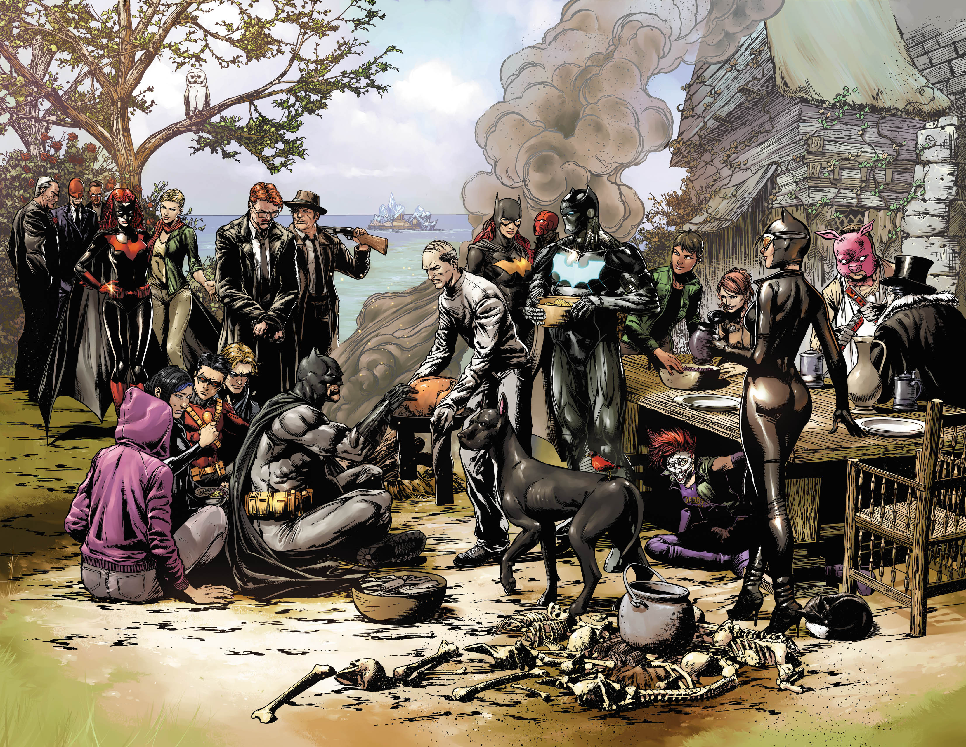 Thanksgiving Dinner In Dc  Does the New Batman Eternal Teaser Reveal Nightwing s
