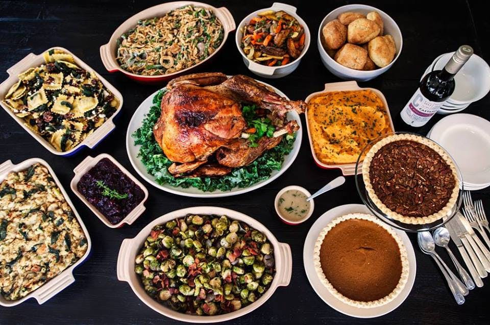 Thanksgiving Dinner Order  Chicago Restaurants to Order Thanksgiving Dinner From