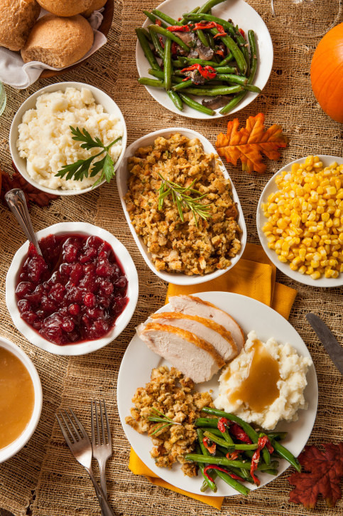Thanksgiving Dinner Order  The Definitive Ranking Thanksgiving Food
