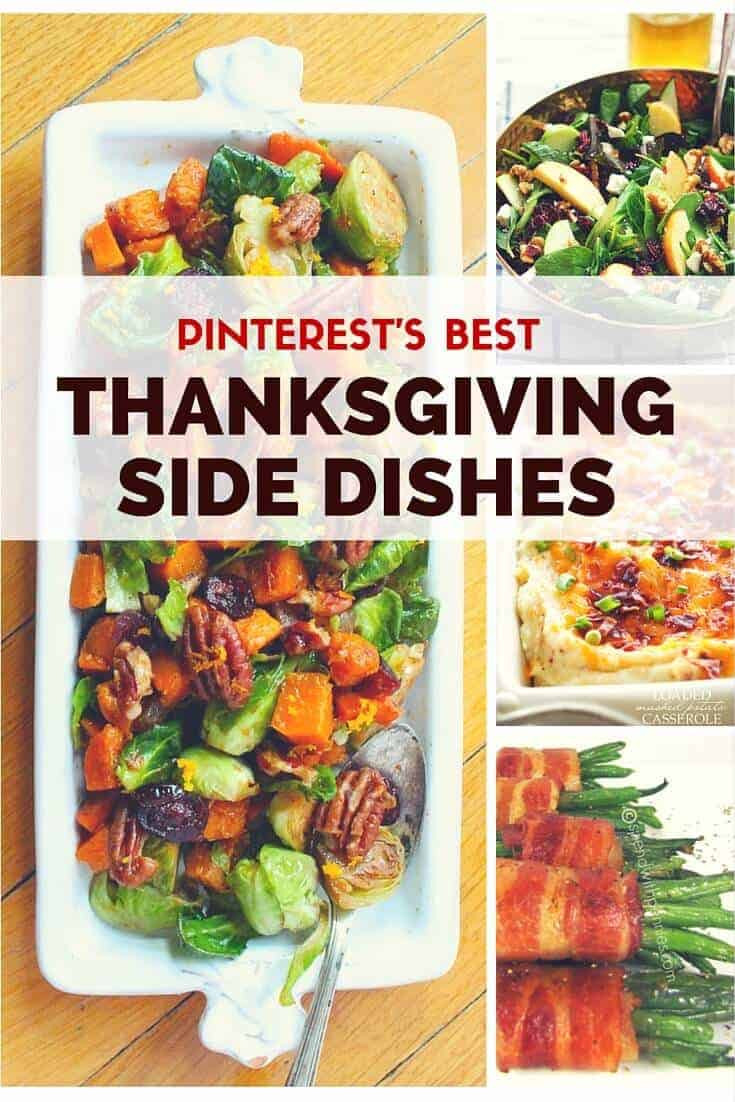 Thanksgiving Dinner Side Dishes Recipes  The Best Thanksgiving Side Dishes on Pinterest Princess