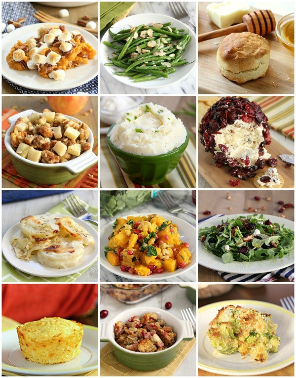 Thanksgiving Dinner Sides  Thanksgiving Side Dish Recipe Ideas Eat Drink Love