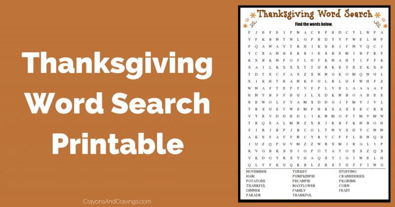 Thanksgiving Dinner Word Whizzle Search  Thanksgiving Word Search Free Printable Worksheet