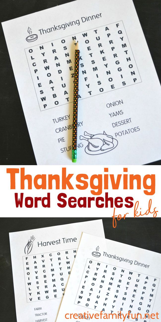 Thanksgiving Dinner Word Whizzle Search  best After School Activities & Adventures images on