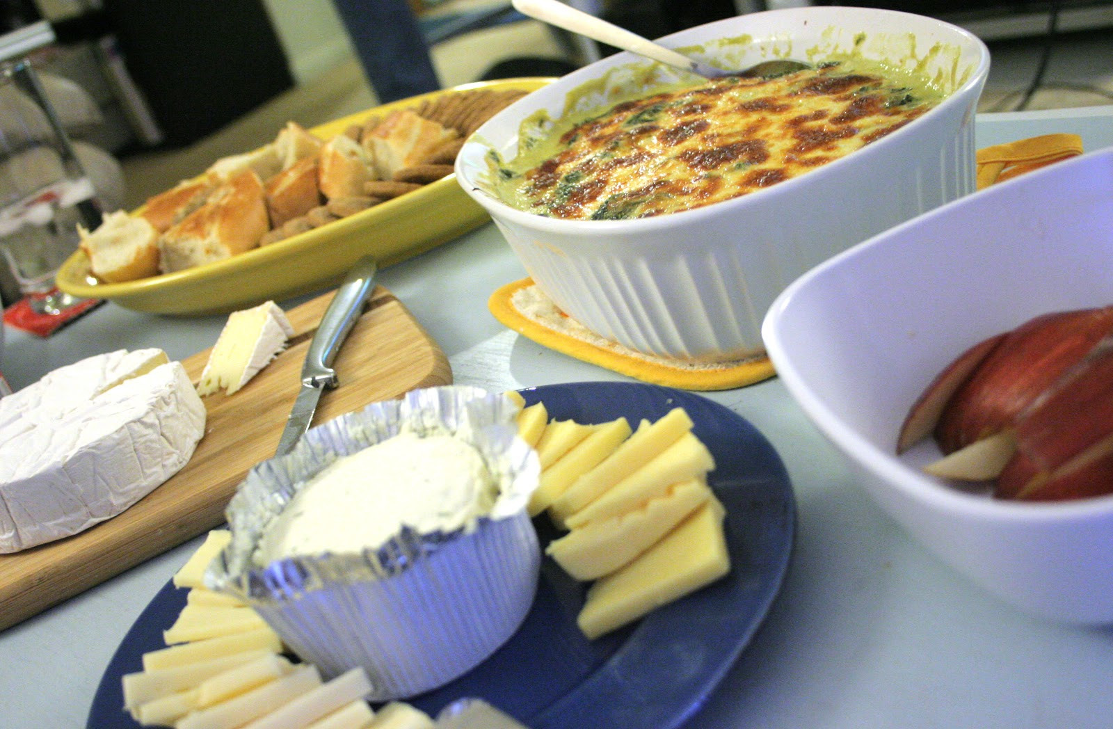 Thanksgiving Dips And Spreads  A Starch Free Cookbook Thanksgiving & Some Hot Spinach Dip