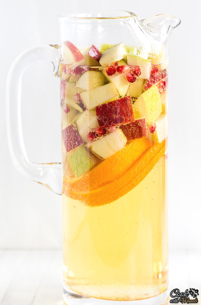 Thanksgiving Drinks Non Alcoholic  Refreshing DIY Non Alcoholic Apple Cider Sangria