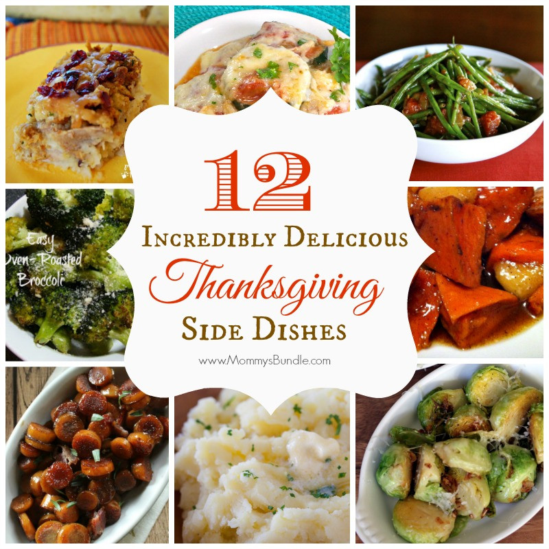 Thanksgiving Easy Side Dishes  Deliciously Easy Thanksgiving Side Dishes Mommy s Bundle