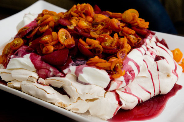 Thanksgiving Fruit Desserts  How to Trick out Pavlova the Easiest Classiest Fruit