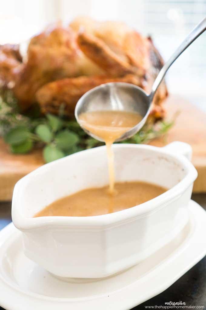 Thanksgiving Gravy Recipe  Best Turkey Gravy Recipe For Thanksgiving or Year Round