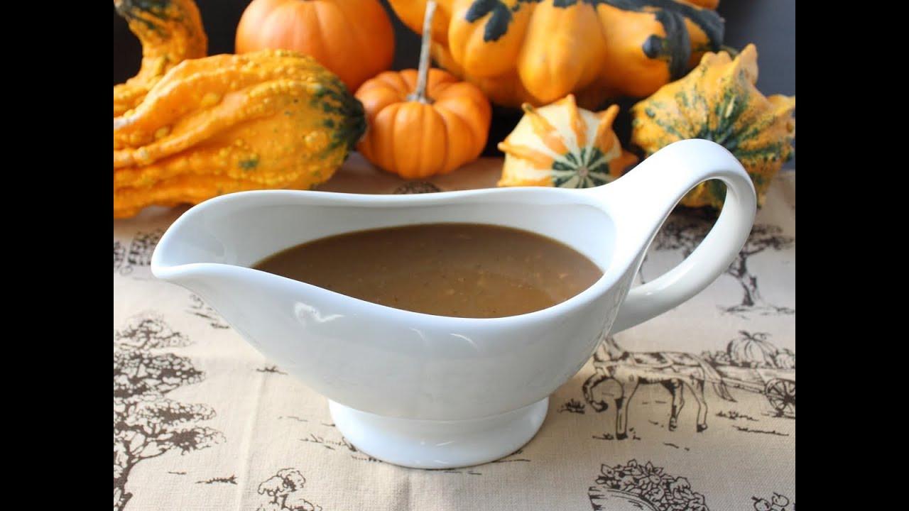Thanksgiving Gravy Recipe  Turkey Gravy with Porcini Mushrooms and Marsala Wine