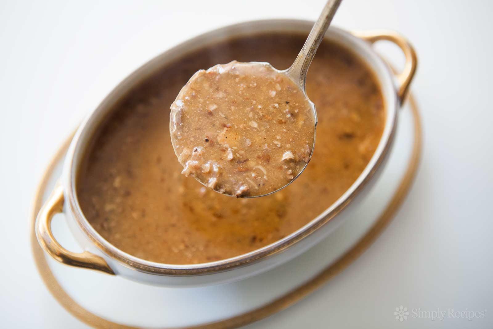 Thanksgiving Gravy Recipe  Giblet Gravy Recipe