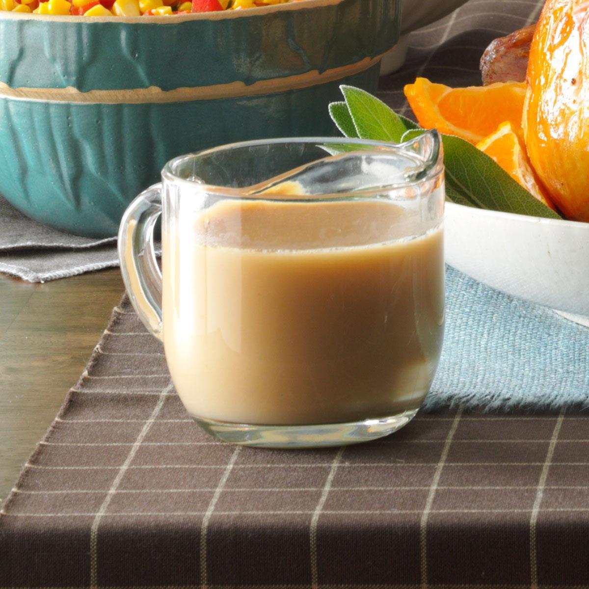 Thanksgiving Gravy Recipe  Creamy Turkey Gravy Recipe