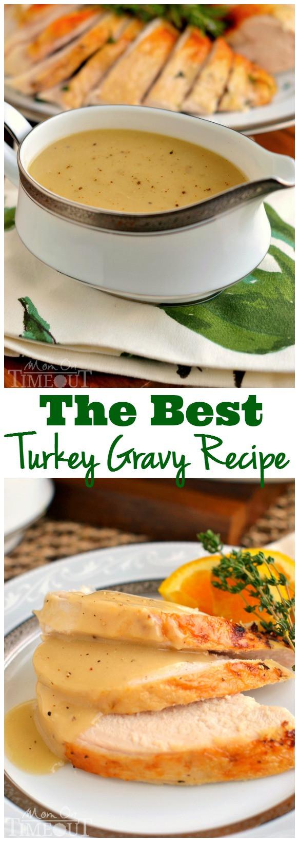 Thanksgiving Gravy Recipe  Rich And Silky Turkey Gravy Recipe — Dishmaps