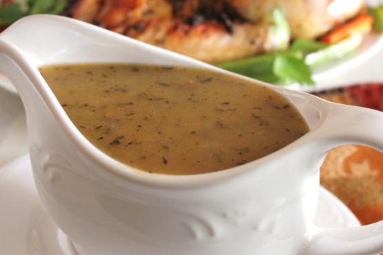 Thanksgiving Gravy Recipe  Turkey Gravy Recipe Genius Kitchen