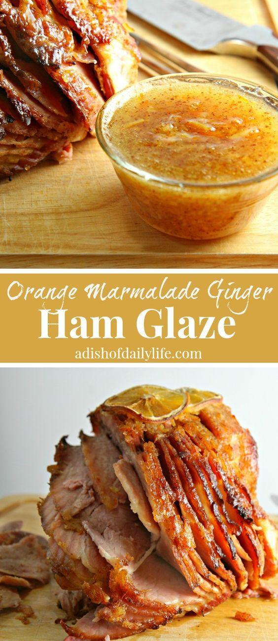Thanksgiving Ham Glaze Recipes  Best 25 Best Ham Glaze ideas on Pinterest