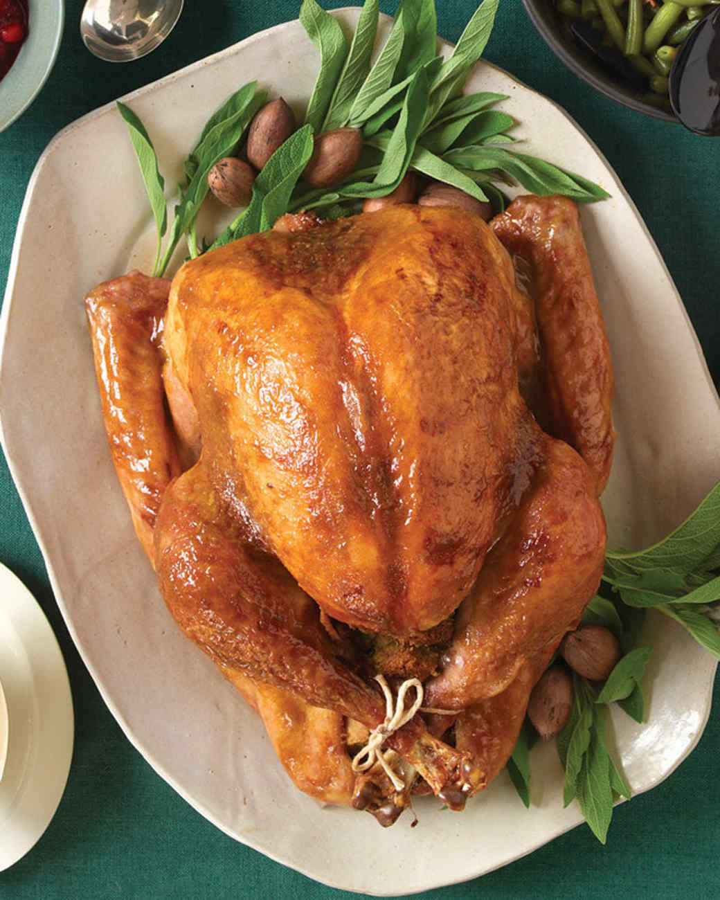 Thanksgiving Ham Glaze Recipes  Roast Turkey with Brown Sugar and Mustard Glaze Recipe