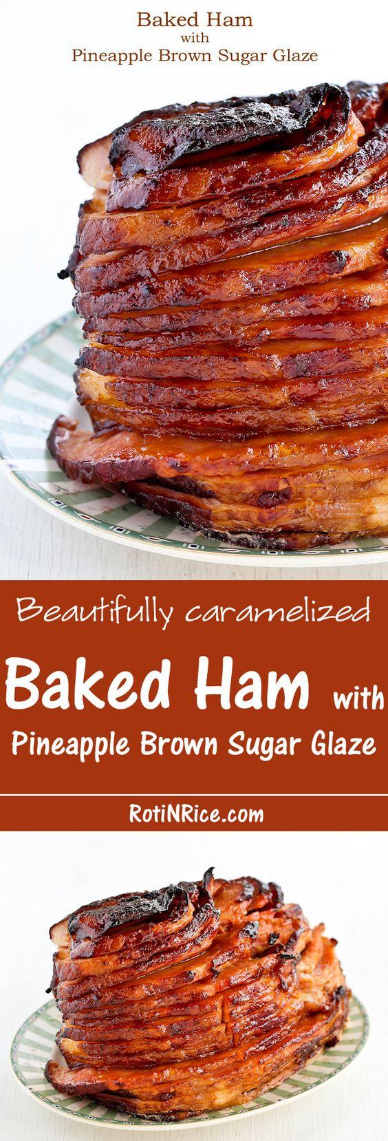 Thanksgiving Ham Glaze Recipes  The BEST Thanksgiving Dinner Holiday Favorite Menu Recipes
