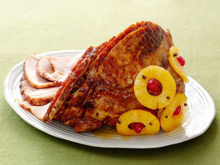 Thanksgiving Ham Recipes With Pineapple  Old Fashioned Holiday Glazed Ham Recipe