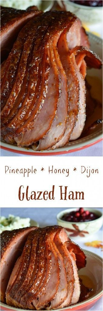Thanksgiving Ham Recipes With Pineapple  Pineapple Honey Glazed Ham Recipe This is a simple and