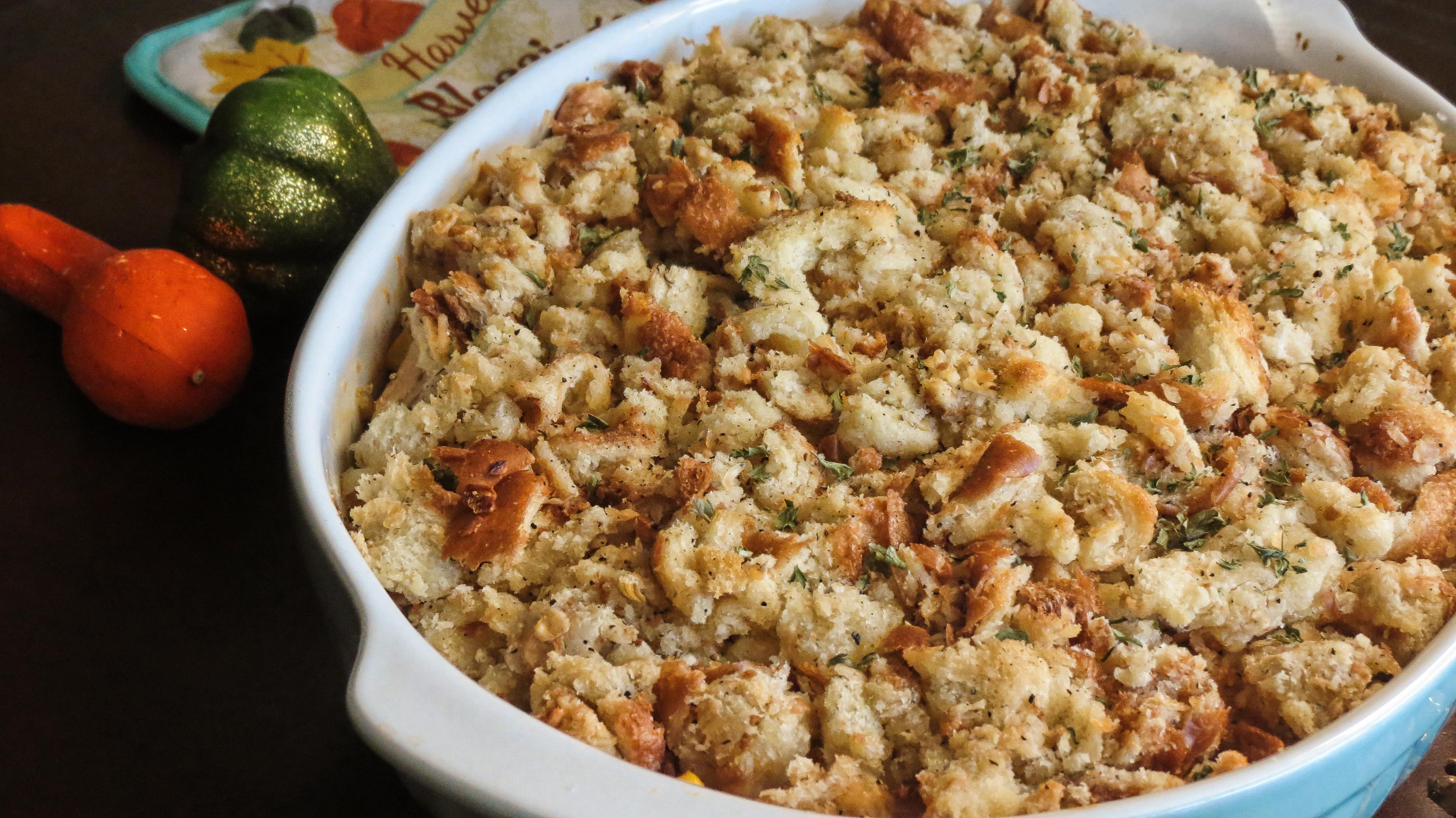 Thanksgiving Leftovers Casserole  Thanksgiving Leftovers Casserole I m Luving This Life