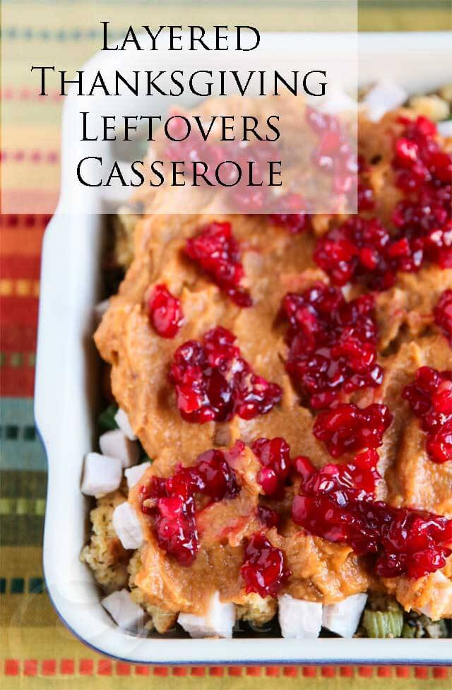 Thanksgiving Leftovers Casserole  Layered Thanksgiving Leftovers Casserole Recipe 30