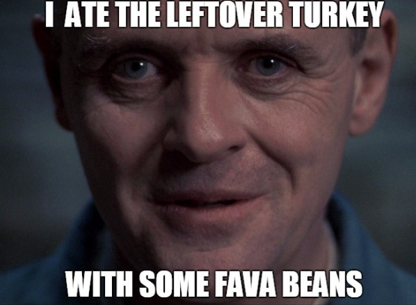 Thanksgiving Leftovers Meme  20 Silence of the Lambs Memes Relive The Movie