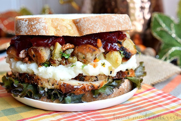 Thanksgiving Leftovers Recipes  Thanksgiving Leftovers Sandwich Home Made Interest