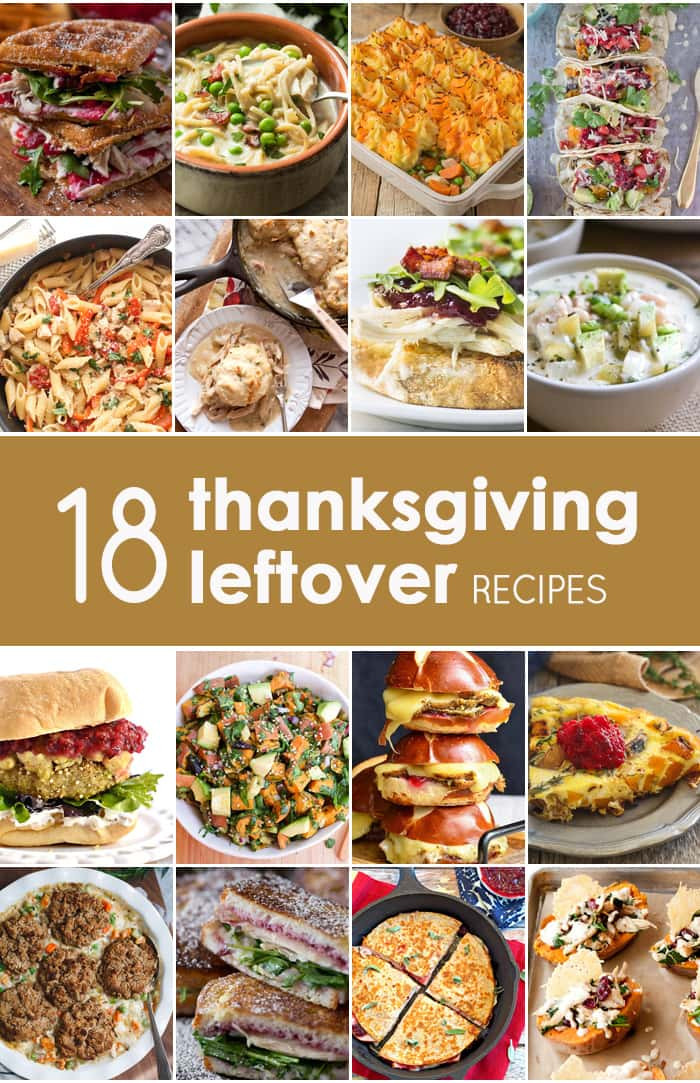 Thanksgiving Leftovers Recipes  10 Thanksgiving Leftovers Recipes The Cookie Rookie