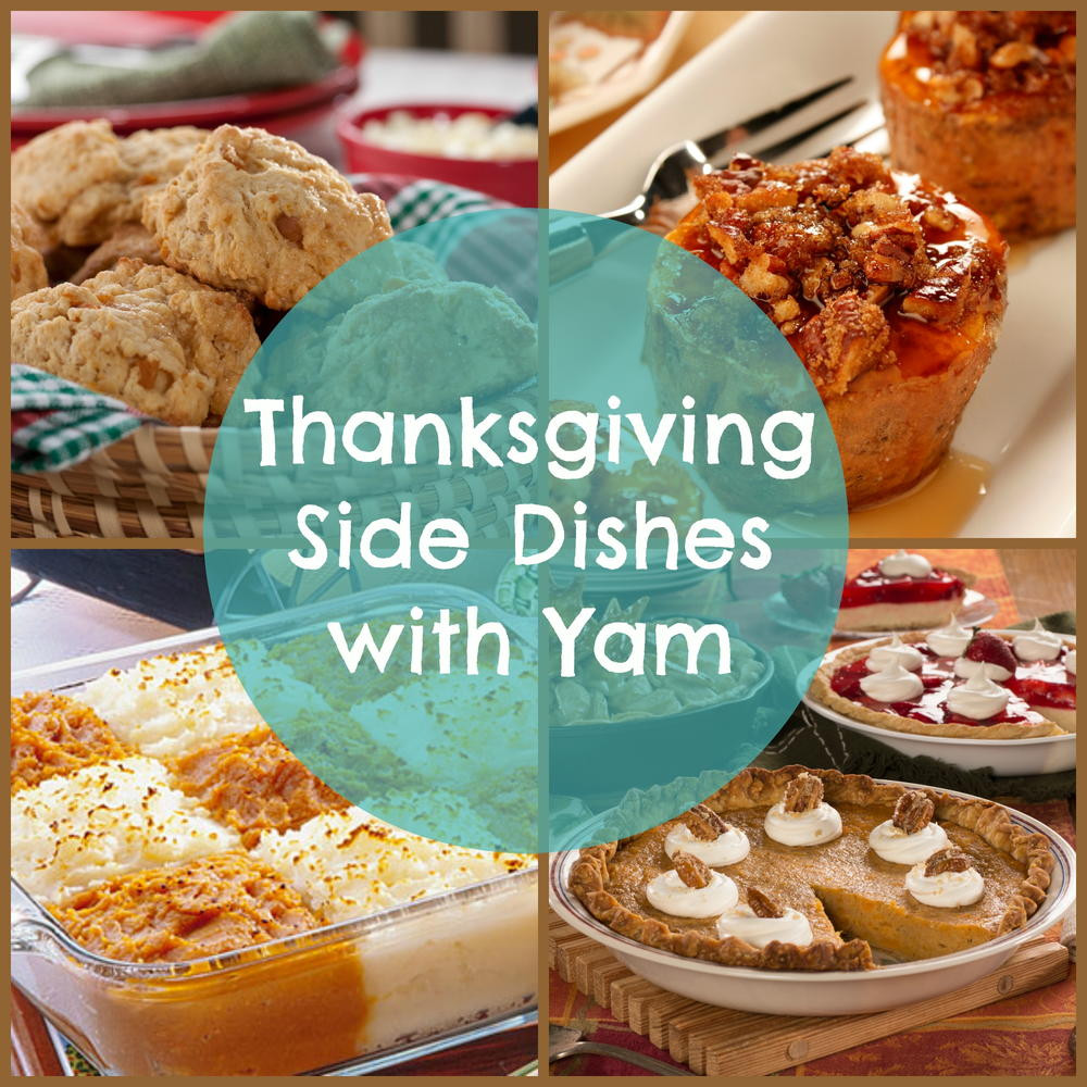 Thanksgiving Pasta Side Dishes  14 Thanksgiving Side Dishes with Yam