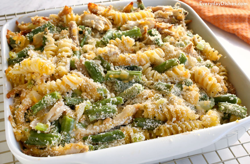 Thanksgiving Pasta Side Dishes  Leftover Turkey Pasta Casserole Recipe