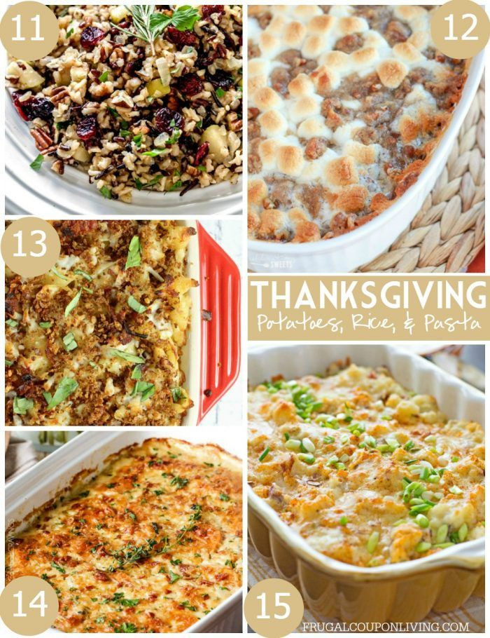 Thanksgiving Pasta Side Dishes  25 Mouthwatering Thanksgiving Side Dishes