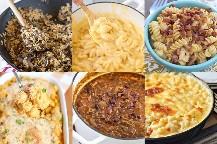 Thanksgiving Pasta Side Dishes  Thanksgiving Side Dishes