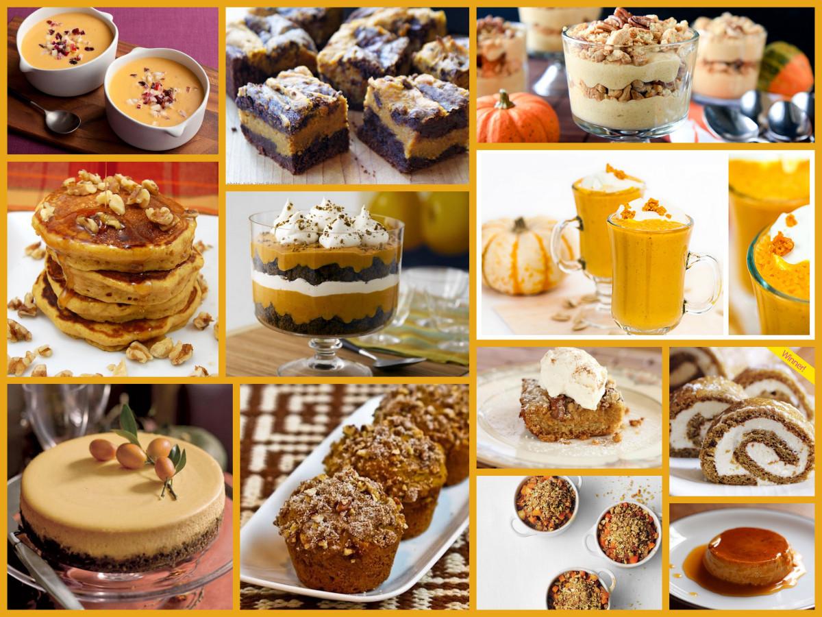 Thanksgiving Pumpkin Recipes  Thanksgiving 101 Pumpkin Recipes