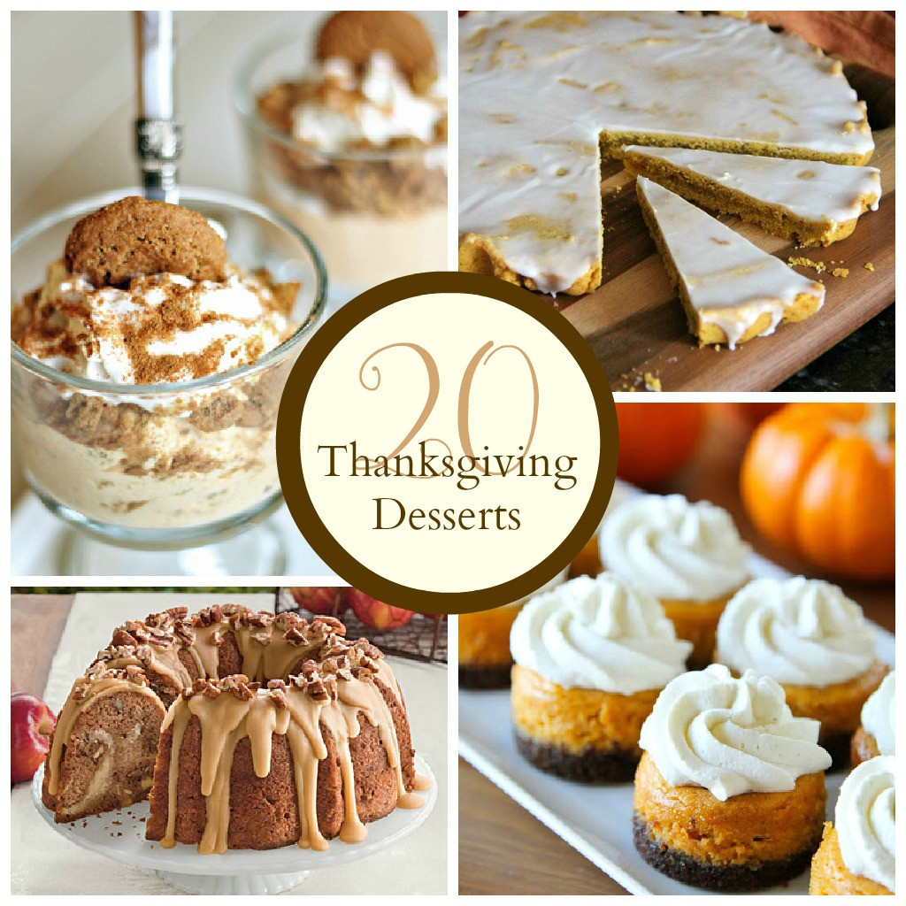 Thanksgiving Recipes Desserts  Thanksgiving Desserts The Crafted Sparrow