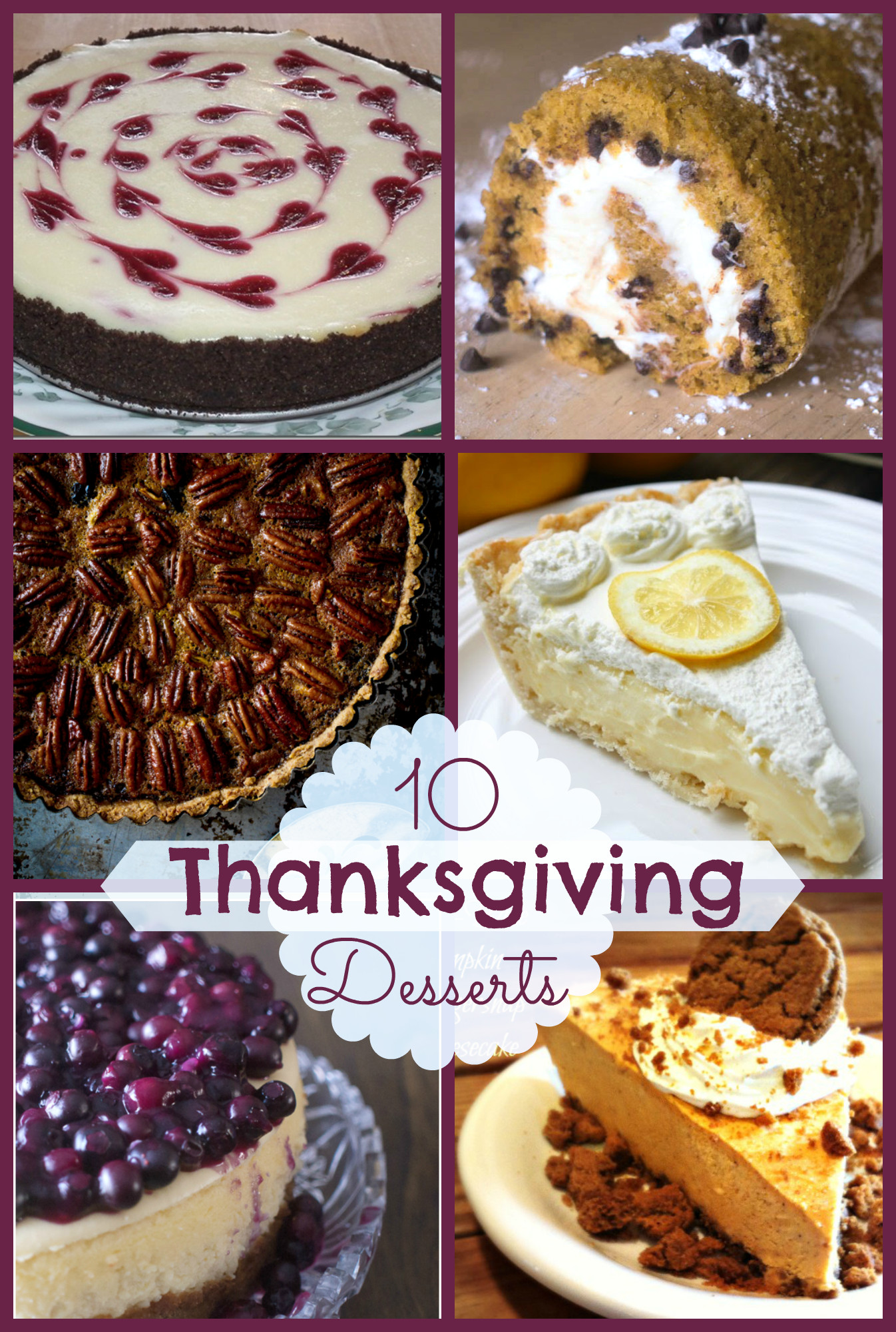 Thanksgiving Recipes Desserts  10 Fabulous Thanksgiving Desserts
