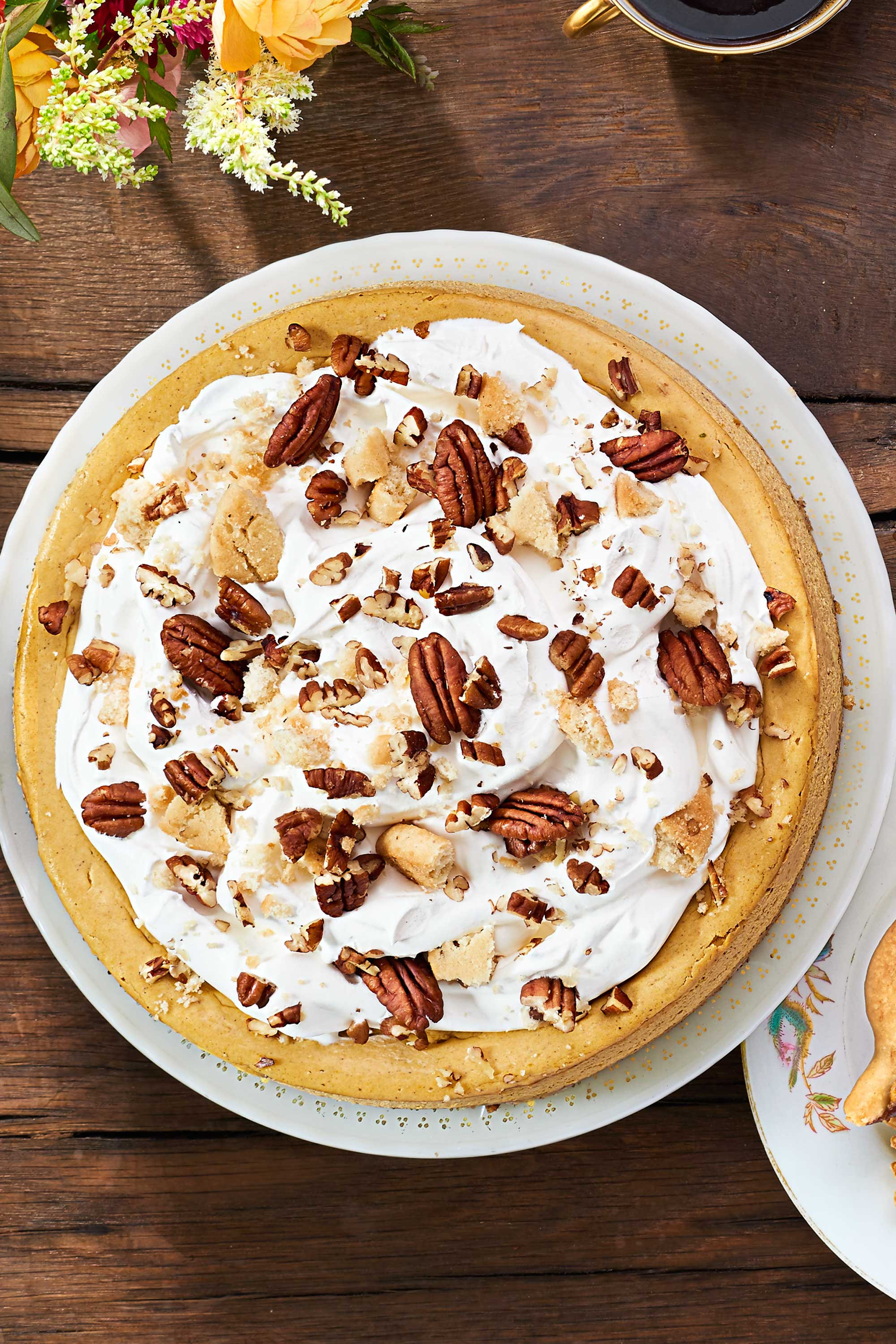 Thanksgiving Recipes Desserts  27 Easy Pumpkin Cheesecake Recipes How To Make Pumpkin