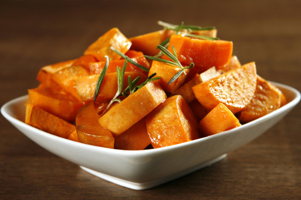 Thanksgiving Roasted Sweet Potatoes  Healthy Thanksgiving side dishes