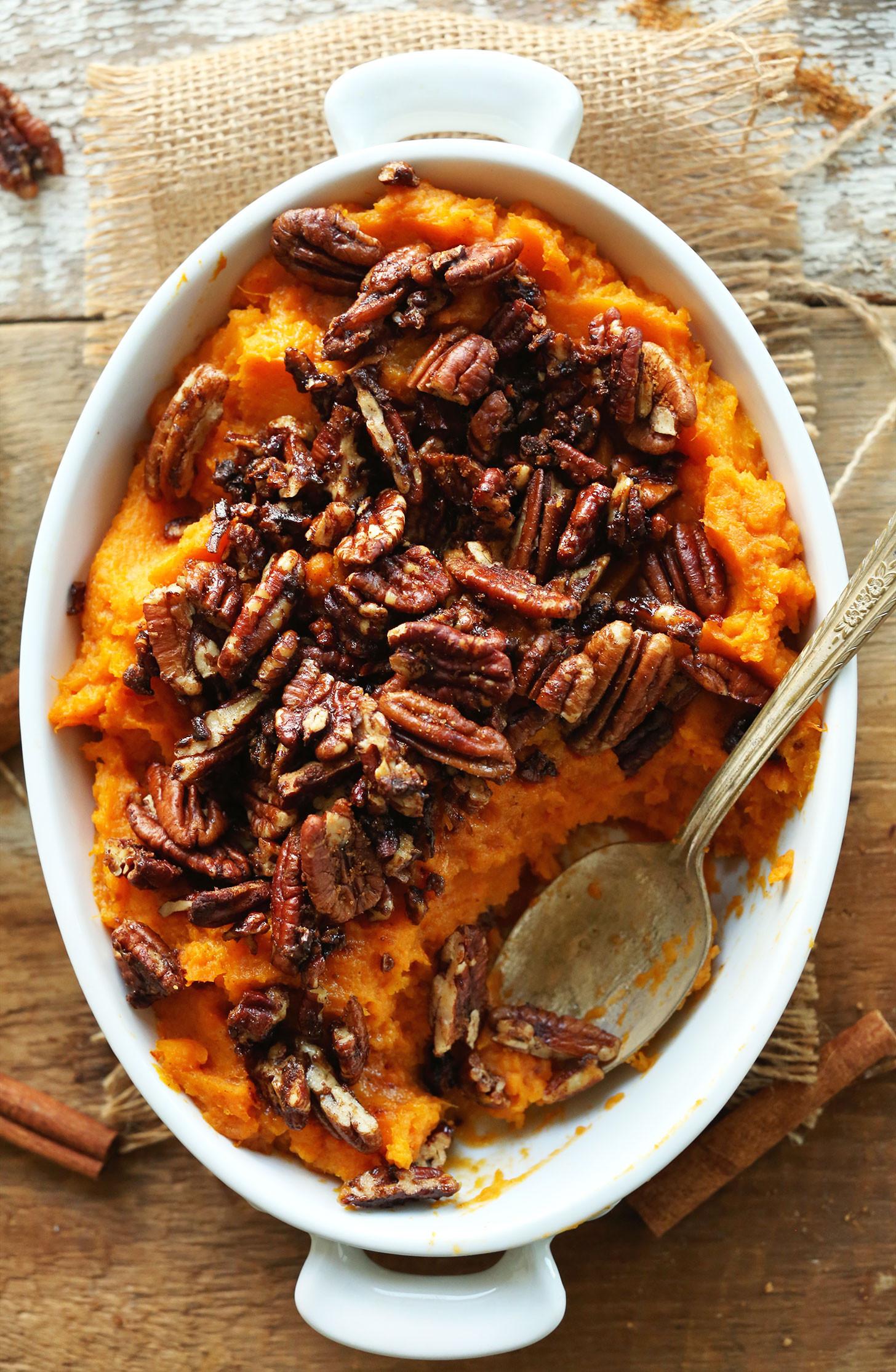 Thanksgiving Sweet Potatoes  Butternut Squash Sweet Potato Casserole