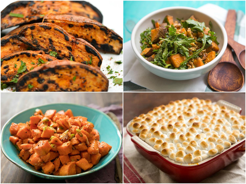 Thanksgiving Sweet Potatoes  12 Not Too Sweet Sweet Potato Recipes for Thanksgiving