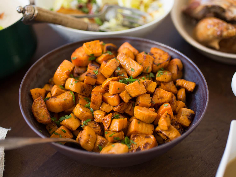 Thanksgiving Sweet Potatoes Recipe  8 Not Too Sweet Sweet Potato Recipes for Thanksgiving