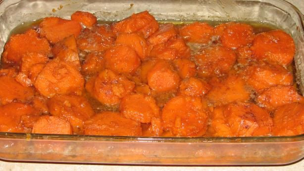 Thanksgiving Sweet Potatoes Recipe  Grandma s Thanksgiving Sweet Potato Yams from Food