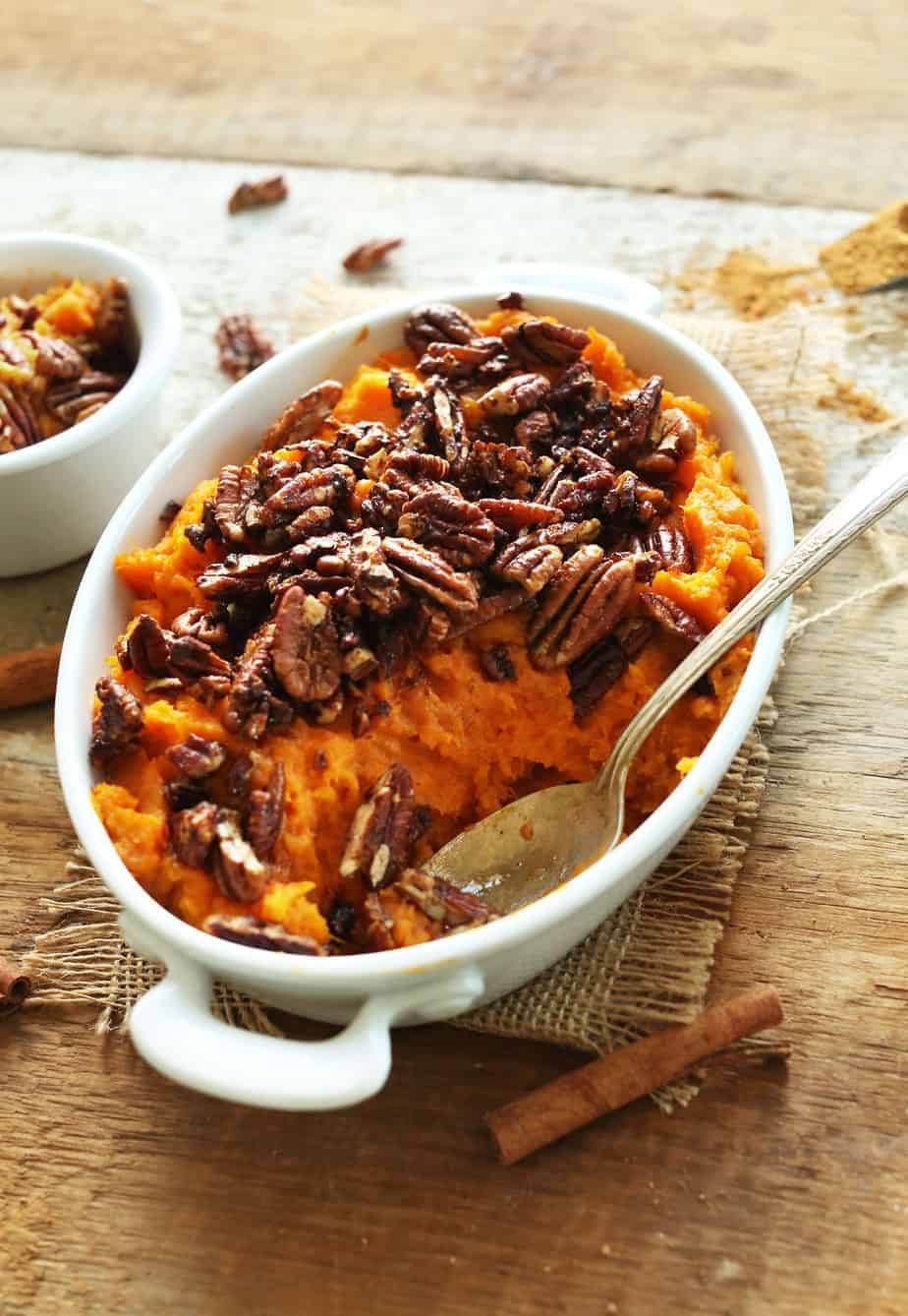 Thanksgiving Sweet Potatoes Recipe  Vegan Thanksgiving Recipes