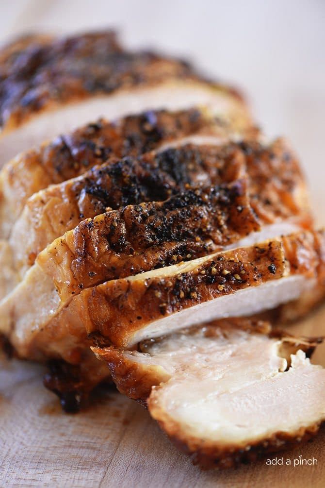 Thanksgiving Turkey Breast Recipe  Roasted Turkey Breast Recipe Add a Pinch