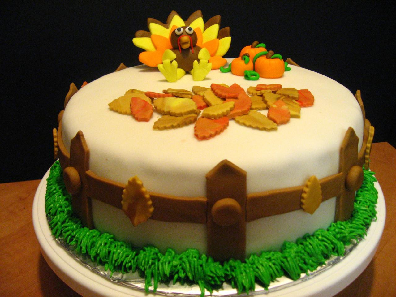 Thanksgiving Turkey Cake  Wreck the Halls Tips For Having The Best Holiday Season
