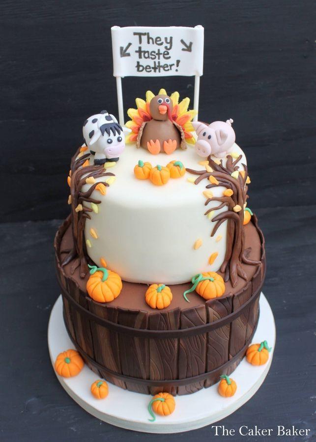 Thanksgiving Turkey Cake  Best 25 Turkey cake ideas on Pinterest