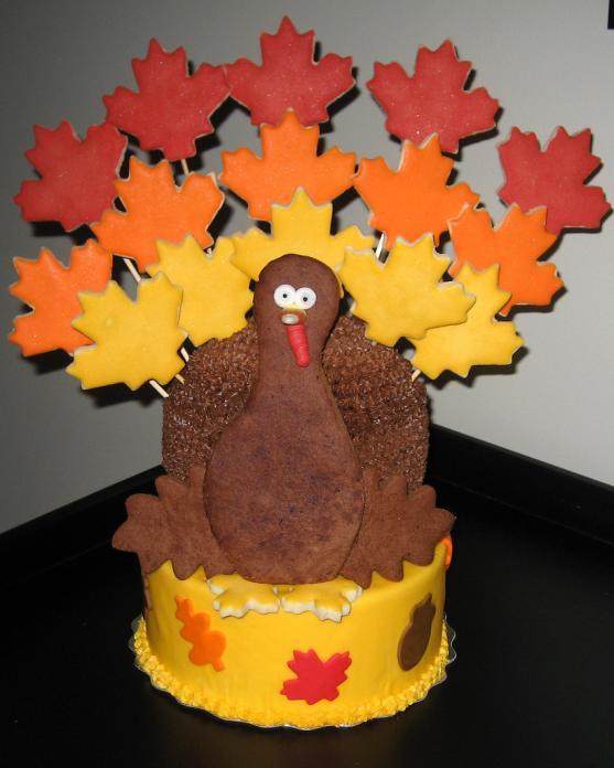 Thanksgiving Turkey Cake  Thanksgiving Turkey Cakes 23 Pics